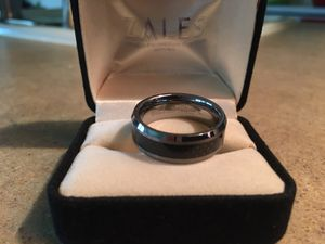 Men's Wedding Ring Triton Tungsten for Sale in Puyallup, WA
