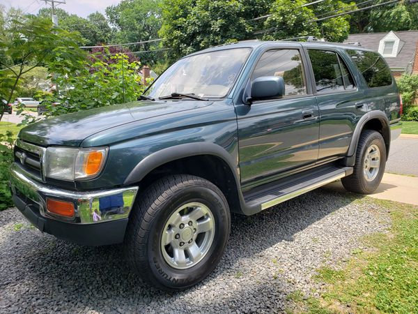 Toyota 4runner 4wd SRS Clean