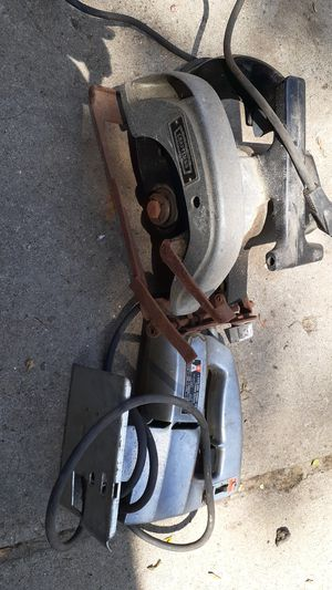 Craftsman circular saw and a jigsaw for Sale in Allen Park, MI