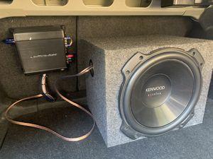 Subwoofer and Amplifier (See Description) for Sale in Mesa, AZ
