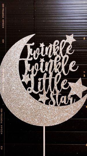 Twinkle Twinkle Little Star Cake Topper for Sale in Chula Vista, CA