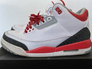 Jordan 3 RETRO FIRE RED for Sale in San Diego, CA