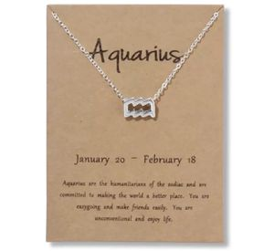 Aquarius Horoscope Charm Necklace for Sale in San Diego, CA