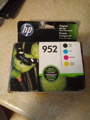 Hp 952 printer ink for Sale in Fort Wayne, IN