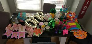 TROPICAL 1ST BIRTHDAY DECOR for Sale in Charlotte, NC