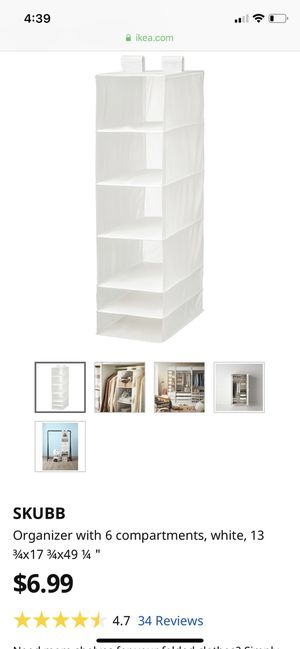 Ikea Closet Organizers both included for Sale in Tempe, AZ