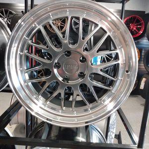 "IPW Custom Wheels Model W882 Hyper Black 19""Staggered for Sale in Tempe, AZ"