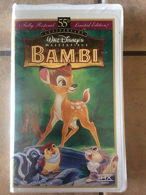 Bambi vhs for Sale in Henderson, NV