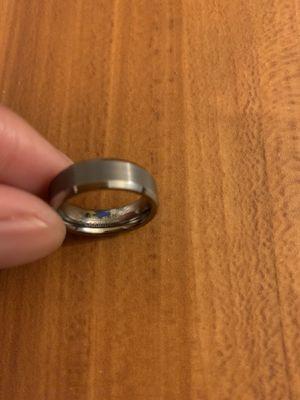 Tungsten Carbide Wedding Band sz 6.5 for Sale in Denver, CO