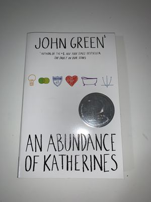 An abundance of katherines by John green for Sale in Miami, FL