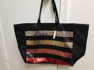 Victoria's Secret Sequin Tote Bag for Sale in Guadalupe, AZ