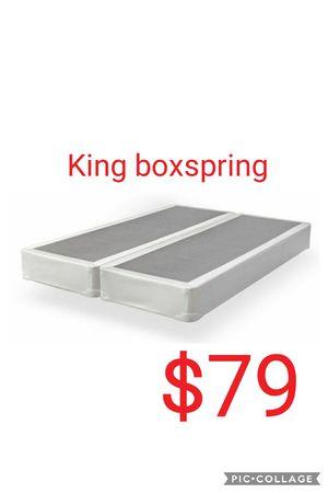 King boxspring for Sale in Las Vegas, NV