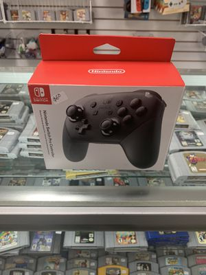 Nintendo Switch Pro Control $55 Gamehogs 11am-7pm for Sale in East Los Angeles, CA
