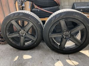 """20"""" SRT Replica Wheels and Pirelli Tires for Sale in Long Beach, CA"""