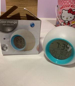 color changing alarm clock for Sale in Barstow, CA