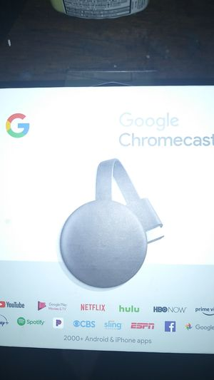 Google Chromecast 3rd generation for Sale in Fort Worth, TX