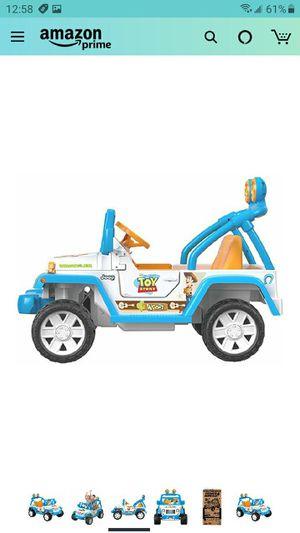 Toy story kids electric car BRAND NEW for Sale in San Bernardino, CA