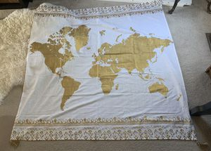 World map tapestry for Sale in Tigard, OR