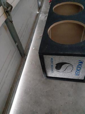 Kicker box 14 by 11 1/2 for Sale in Las Vegas, NV