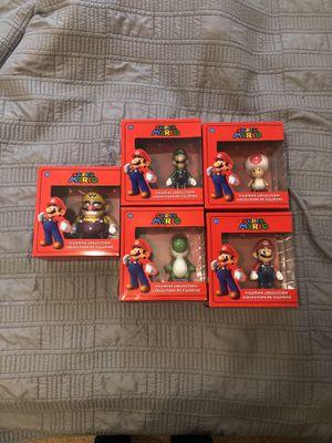 Super Mario Figurine Collection set for Sale in Fairfax, VA