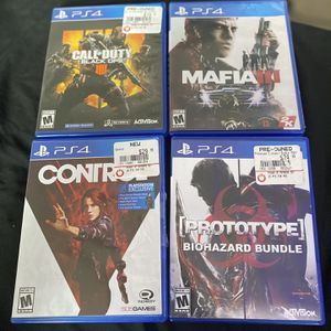 Black Ops 4 And More $15 A Piece for Sale in Houston, TX