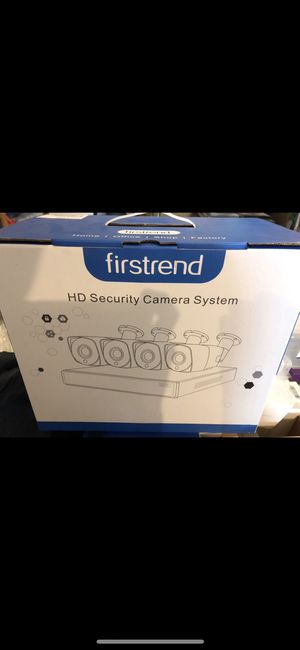 Brand New Security Camera System Wireless, Firstrend 8CH NVR Wireless Security Camera System with 4pcs 1080P Wireless Security Cameras Outdoors with for Sale in Reynoldsburg, OH
