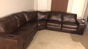 Leather Sectional for Sale in Houston, TX
