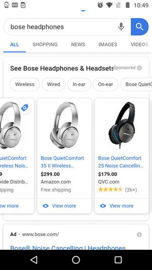 Boss quiet comfort 35 for Sale in Cedar Creek, TX