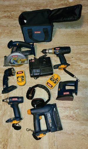 Ryobi 18 volt tools. Read description for Sale in Falls Church, VA