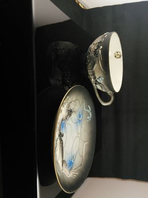 """Japanese """"Dragonware"""" cup, saucer and sugarbowl set for Sale in Las Vegas, NV"""