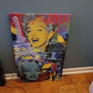 Marilyn Monroe Canvas for Sale in Silver Spring, MD