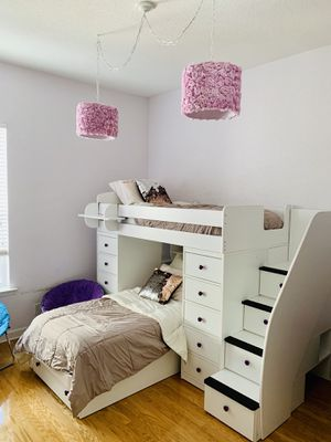 Twin Bunk Beds Loft System for Sale in Hollywood, FL