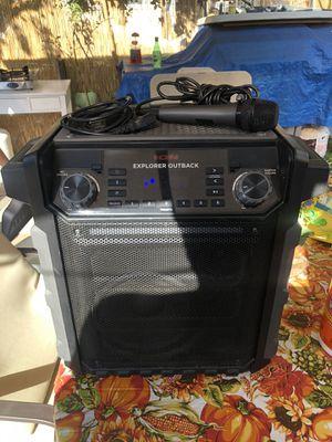 Ion portable Bluetooth wireless speaker w/light, mic for Sale in Bellflower, CA