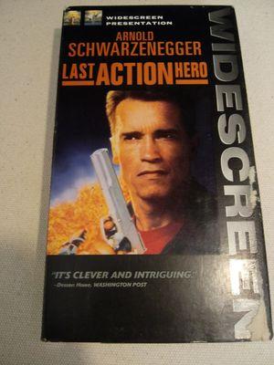 (1pc) last action hero - A.Schwarzenegger - c d - DVD - movie - 2 player - watch - - Stars - celebrity - collectors - display - action - hero - for Sale in Naples, FL