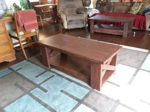 Handcrafted rustic coffee table for Sale in Ossian, IN
