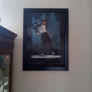 Michael Jackson Halogram Picture for Sale in Port St. Lucie, FL