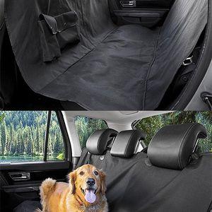 (NEW) $15 Pet Dog Car Seat Protector Cover Back Rear Mat Pad Waterproof Hammock, Black for Sale in Pico Rivera, CA