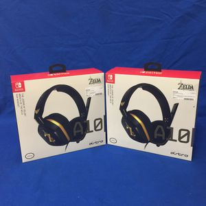 Astro The Legend of Zelda: Breath of the Wild Edition Wired Gaming Headphones for Nintendo Switch | PRICE IS FOR 1 (Model: A10) for Sale in Marietta, GA