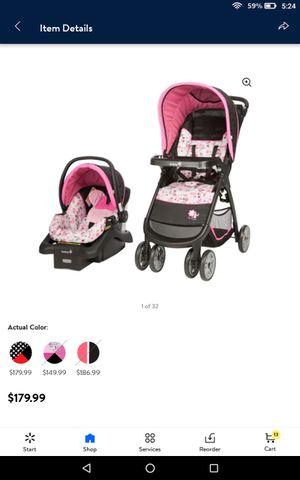 Disney Minnie Mouse stroller/car seat combo for Sale in Phoenix, AZ