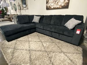 NEW IN THE BOX, L SHAPED SECTIONAL, SLATE, IN STOCK NOW. for Sale in Huntington Beach, CA