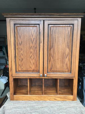 WALL CABINET & DESK for Sale in Portland, OR