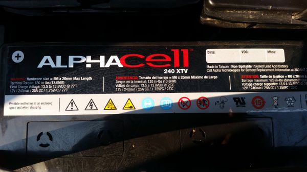 Alpha cell RV Battery's (New) Long Lasting for Sale in Seattle, WA - OfferUp