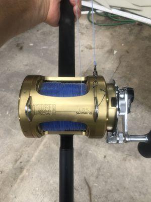 Shimano Tiagra 50W fishing reel for Sale in Longwood, FL