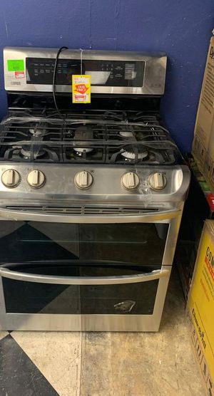 NEW LG LDG4313ST GAS STOVE DOUBLE OVEN KM 4 for Sale in Cypress, CA