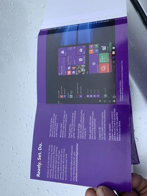 Microsoft windows 10 pro software 64 bits for Sale in Long Beach, CA