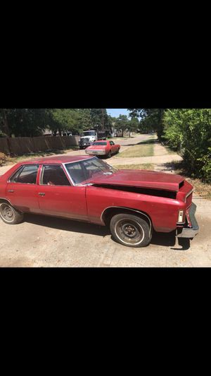 1975 Chevy Impala 4dr for Sale in Dallas, TX