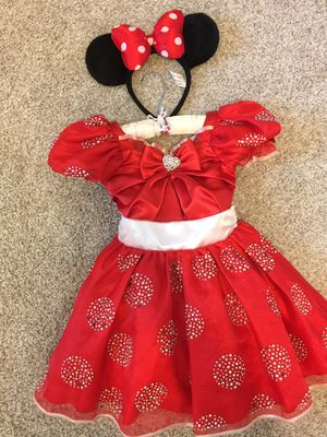 Limited Edition Minnie Mouse Costume-XS (4) for Sale in Colleyville, TX