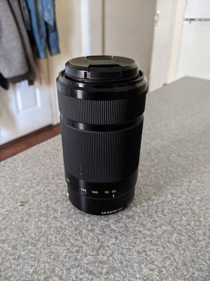 Sony E 55-210mm F4.5-6.3 Lens for Sony E-Mount Best Offer for Sale in Philadelphia, PA