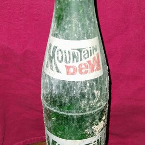Vintage Glass Mountain Dew Bottles for Sale in Bluff City, TN