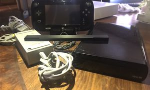 Nintendo Wii U 32 GB Black System Console Bundle TESTED W/Charge Dock for Sale in Los Angeles, CA